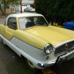 Nash Metropolitan Yellow