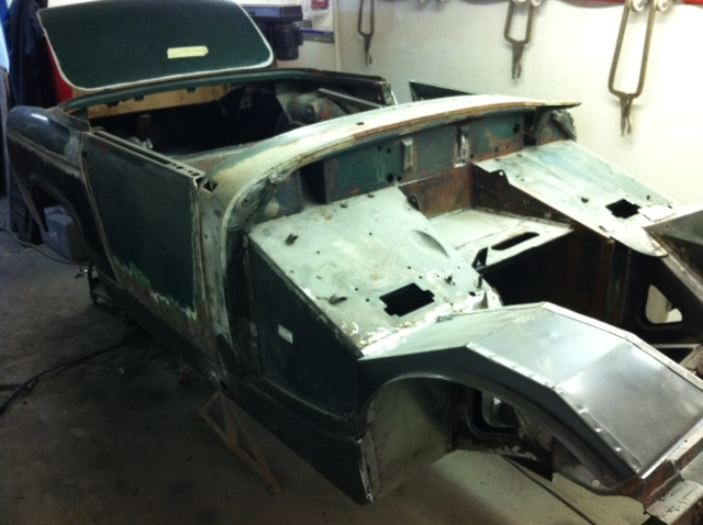 Mg Midget Repair 15