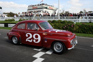 CCK Volvo PV544 Goodwood Revival podium finisher