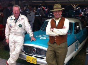 Shaun Rainford and John Cleland with the Metropolitan