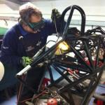 FF1600 chassis repair 2