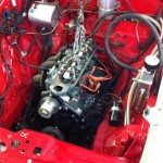 New engine for Standard Vanguard 2