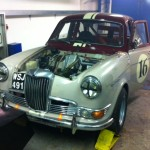 Bonhams Riley 1.5 on CCK rolling road 2