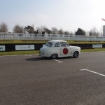 HRDC Goodwood trackday Austin A35