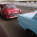 HRDC Goodwood trackday - Mini Cortina