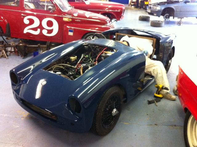 classic car paint shop cck historic