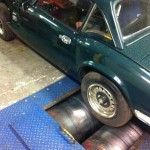 Triumph Spitfire rolling road tuning