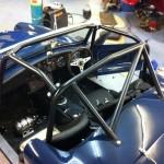 Custom roll cage in Mk1 Turner