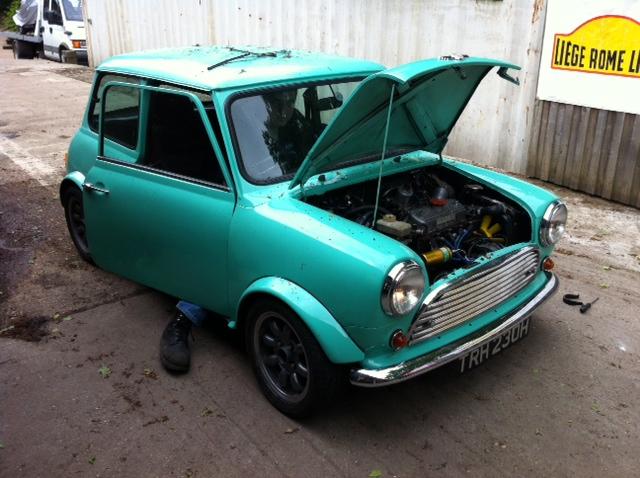 CCK Historic  Classic car servicing Westfield, Mini, Mk
