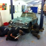 Austin-Healey 3000 barn find