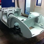 Austin Healey 3000 zinc phosphate coated