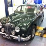 Coombs Jaguar Mk2 replica