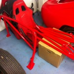 Lenham MG roll cage 4