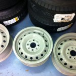 Fiat Abarth 1500 S 13 x 6 wheels