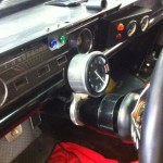 Stack rev counter in FIA 65 Mustang