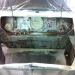 mk1 mini pickup engine bay
