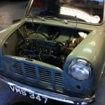 mk1 mini pickup engine out