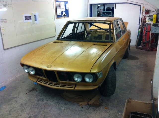CCK Historic Custom Roll Cage And Paint For A BMW Si Group - Bmw 3 0 si