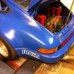 Porsche 911 Bosch rolling road 3