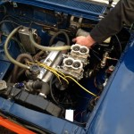 Abarth Fiat 1500 engine install