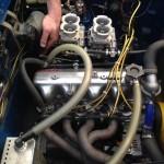 Abarth Fiat 1500 engine install 3