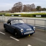 Darren Turner testing for Goodwood 72nd Members Meeting