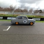 Ed Glaister Ford Anglia 100E Goodwood