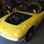 Lotus Elan Sprint repair