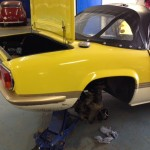 Lotus Elan sprint fuel line replacement