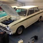 Lotus Cortina service