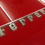 Ferrari 328 boot lid badge