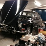 Jaguar MkX rolling road 2