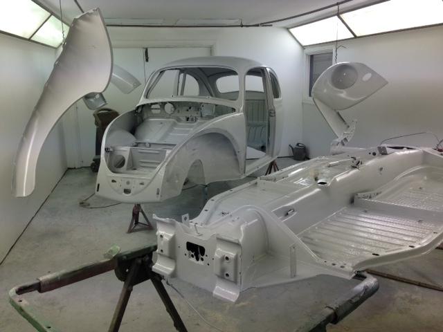 Beetle Restoration on Vw Beetle Race Engine