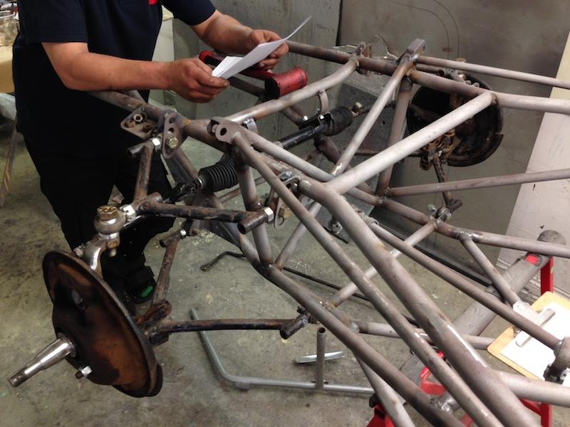 Cheetah Historic Race Car Restoration Preparation
