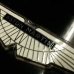 Aston Martin V8 badge
