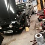 Aston Martin V8 rolling road 2