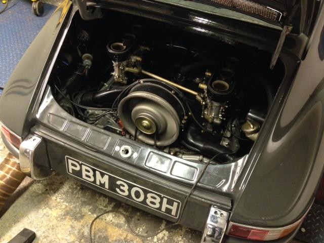 Porsche 911 Cck Historic