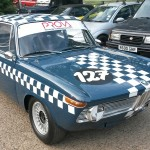 Postins Abbott BMW 1800ti race car