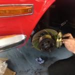 Triumph Stag brake rebuild