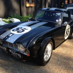 Triumph TR4 FIA race car