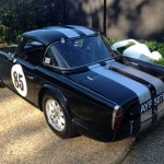 Triumph TR4 FIA race car 4