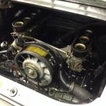 Porsche 911 2.4 engine bay
