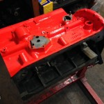 Triumph TR4A engine block