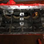 Triumph TR4A engine block 2