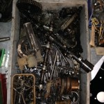 Triumph TR4A engine parts
