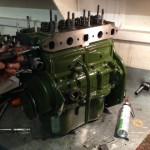 Frogeye Sprite 948cc engine