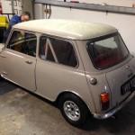 Mk2 Mini 1275 rolling road
