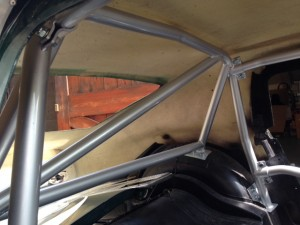 Lenham GT roll cage Paul Sleeman
