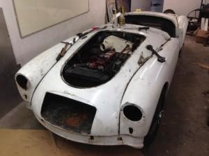 1956 MGA restoration