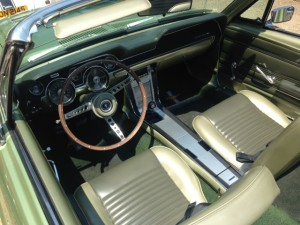 67 mustang 289 convertible 4 speed interior